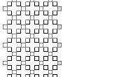 Cordón tejido: papel de gráfico de puntada Chenille (actualizado)