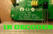 Decodificador de infrarrojos con LinkIT uno
