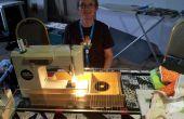 Mesa de máquina de coser de Quilter.