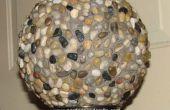 Arte del jardín - jardín de bola de bolos esferas