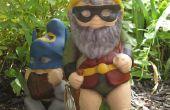 Superhéroe jardín Gnome Mod