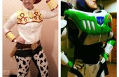 Buzz Lightyear y Jessie la vaquera