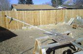 Construir un flotador de madera concreto Toro