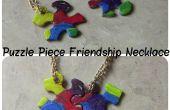 Collar de la amistad de pieza de Puzzle