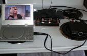 Bajo costo con pilas portable pantalla ancha DTV