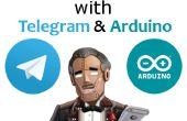 Asistente personal con telegrama y Arduino.