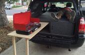 Toyota 4Runner Camper cama conversión con mesa