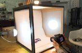 Tienda de fotografía caja de luz