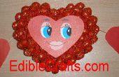 Grande San Valentín corazones de caramelo
