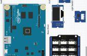 Sensor de luz Intel Galileo Gen 2 con Kit de inicio de estudio de semillas