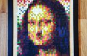 Derretido Crayon mosaico
