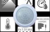 Arduino de Sensor de movimiento