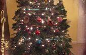 EL alambre de árbol de Navidad iluminación