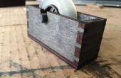 Dispensador de cinta del corte del Laser de madera