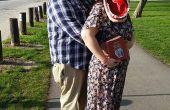 Adam y Barbara Maitland del traje Beetlejuice