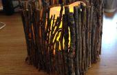 DIY candelabros