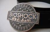 Hebilla de correa de Bioshock en bronce