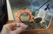 Flaming pescado aro