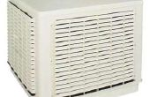 Caja ventilador enfriador evaporativo