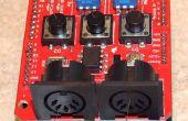 Secuenciador de MIDI Arduino Old-School