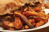 Chile balsámico batata fritas