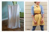DIY falda vestido remodelar