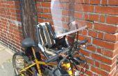 Cómo adjuntar una Bobike Mini parabrisas a manillar de bicicleta de montaña