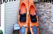 Como hacer un Kayak puerto de drenaje