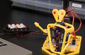 Cómo hacer un teléfono móvil y un ordenador controlado 3D impreso Robot con Arduino - IoBot.