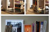 Lámpara de madera del compartimiento secreto