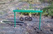 Jardín conejo disuasorio (campanas de viento)