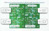 PIEZO-eléctrico potencia DIGITAL COMBINACIONAL cerradura usando lógica de NXP AXP puertas