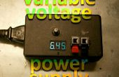 Fuente de alimentación de voltaje variable fácil