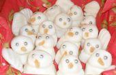 Muñecos de nieve de menta