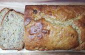 Pan de plátano crema agria