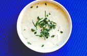 Cremoso patata y puerros sopa