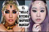 """CL """"Hola puta"""" inspirado maquillaje"""