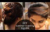 DIY: Peinado de noche de verano!