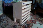 Casa gato madera de la capa