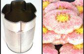 Rápido y Simple trébol de flor de galleta cortador de A sopa puede