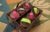 Portador del huevo 6-pack con huevos encapsulados!