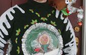 Suéter de Navidad feo-para usted y para su mascota!