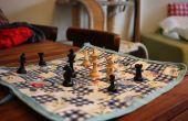 Tablero de ajedrez de paño de aceite