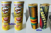 Reutilizar envases de Pringles
