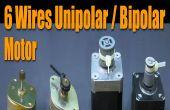 Paso a paso lo básico Motor - Motor de 6 cables Unipolar / Bipolar