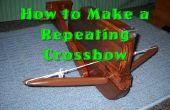 Cómo hacer una ballesta de repetición