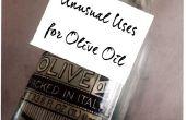 Inusual usa para aceite de oliva