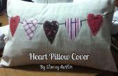 Funda de almohada del corazón