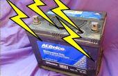 Restaurar las baterías automotoras