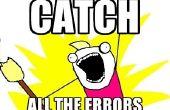 Consejos sobre cómo encontrar errores en el código (centrado en DOS)
